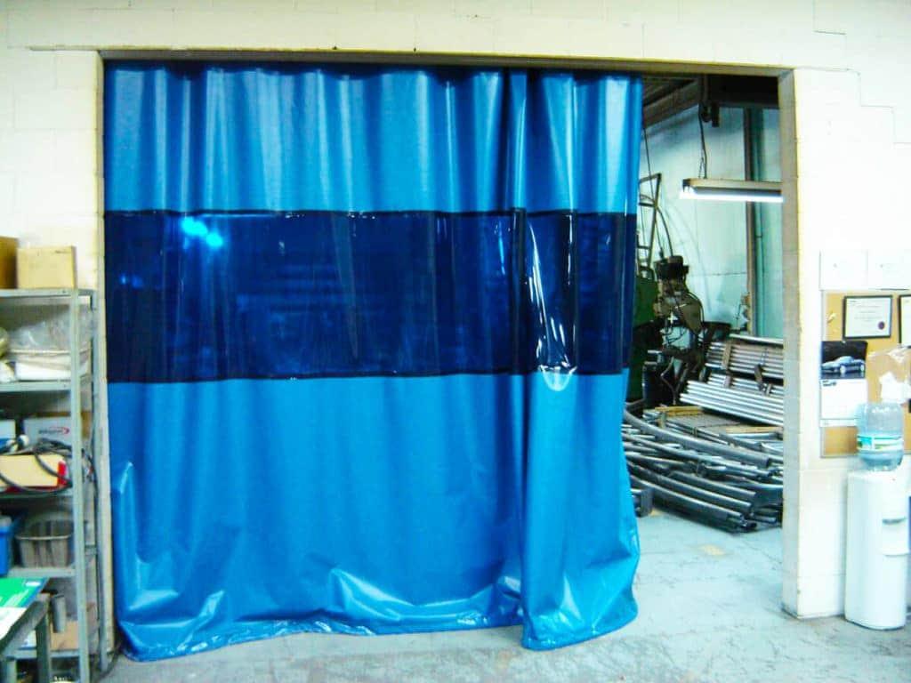 шторы для производственных помещений