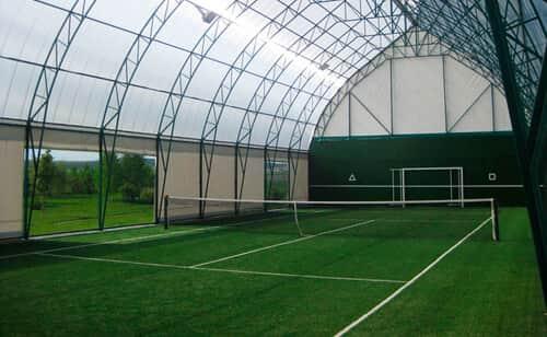 теннисный корт под ключ