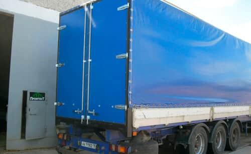 ворота для грузового автомобиля